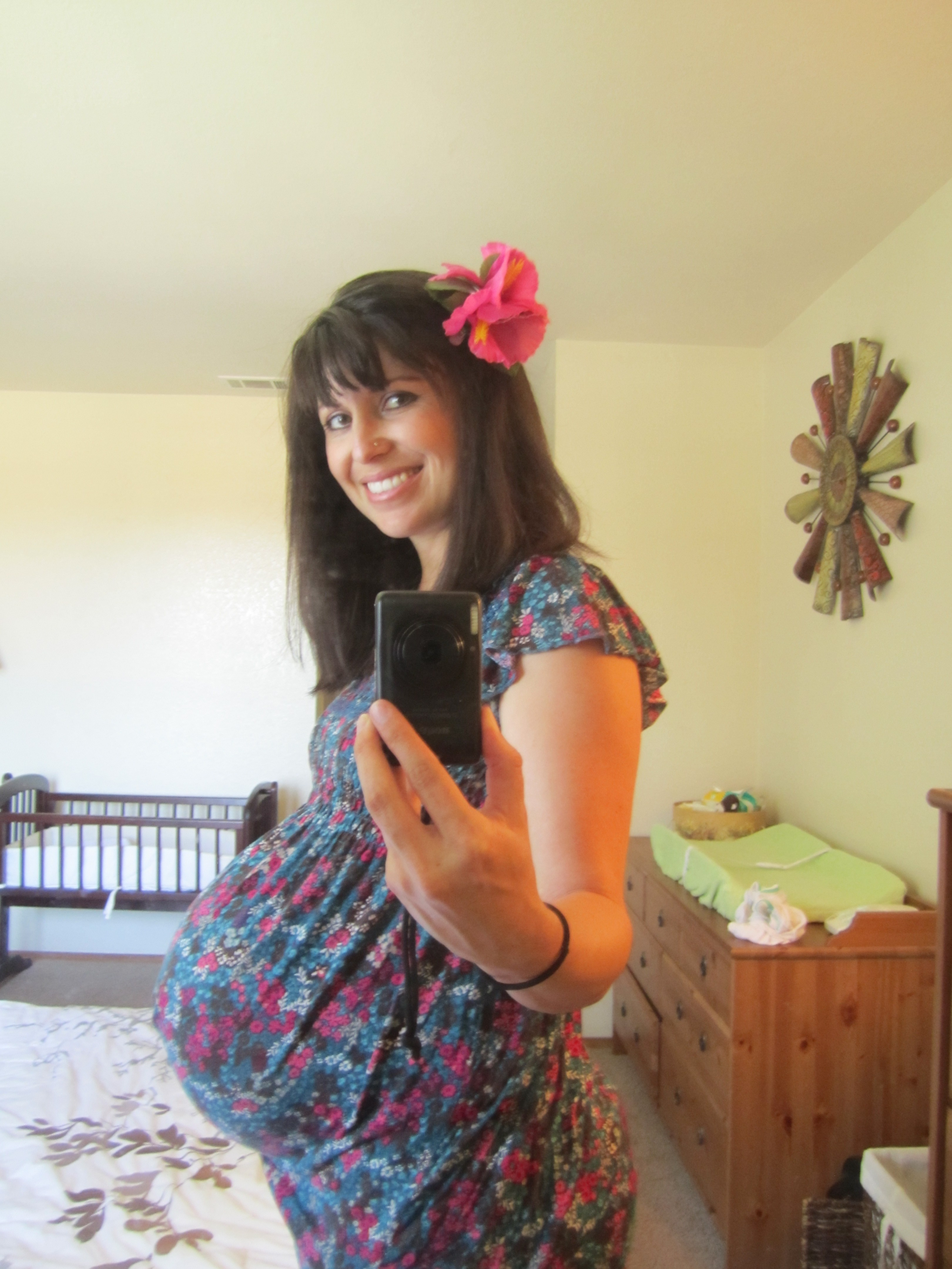 41 weeks pregnant tired