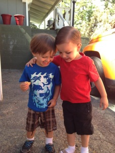Buddies---Jameson and Peyton