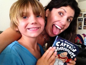 Loving Captain Underpants---Kanan and I