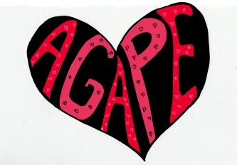 agape heart