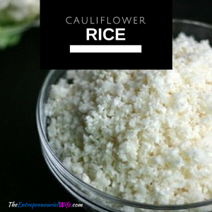 Using Cauliflower Rice instead of Pasta is a Delicious and Healthy Choice